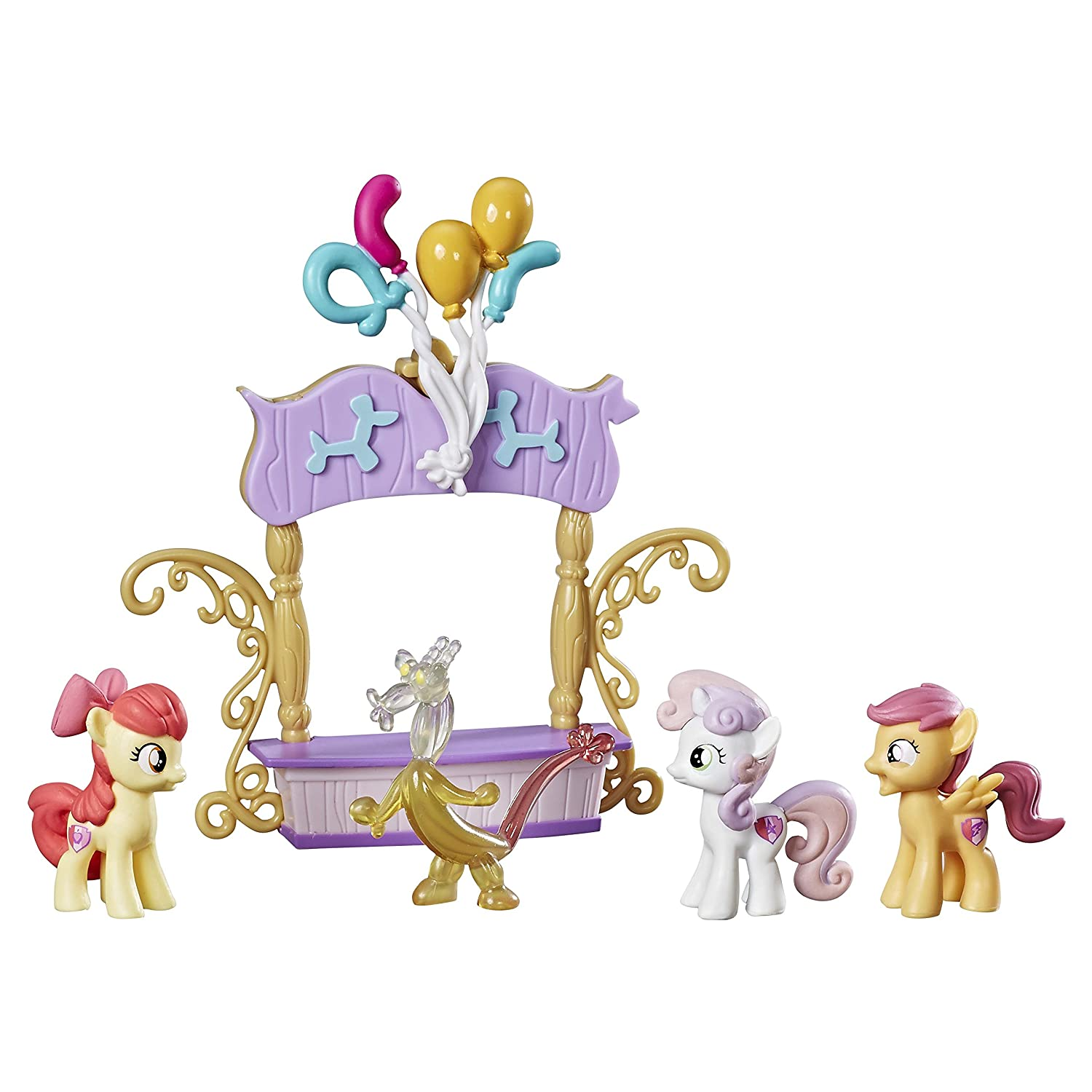 My Little Pony Cutie Mark Crusaders Dolls and Accessories, Dolls