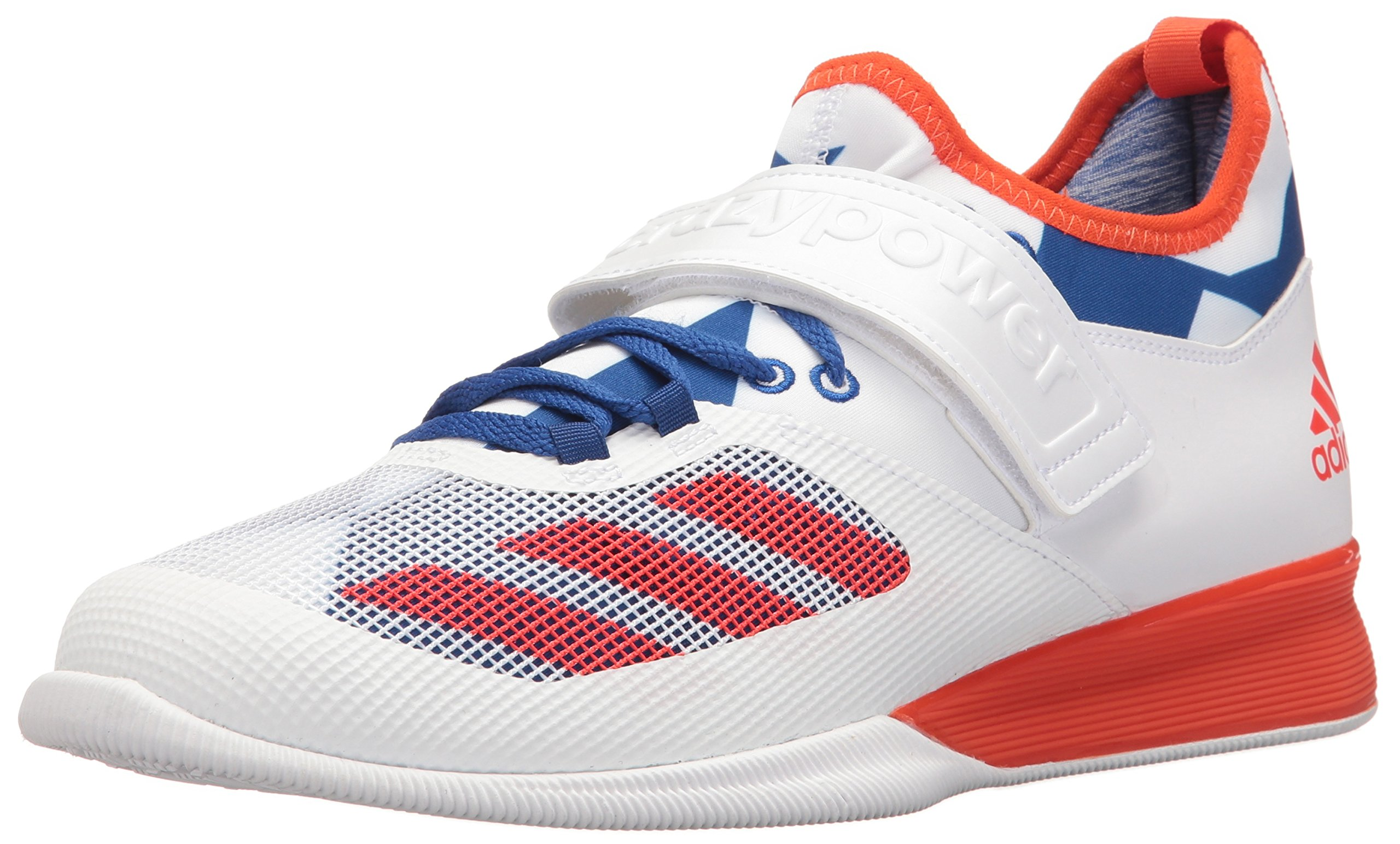adidas Men's Crazy Power Cross Trainer Shoes, WhiteEnergy Collegiate Royal, ((5.5 M US)