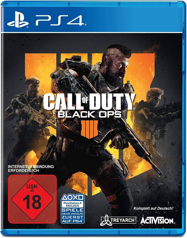 Call of Duty: Black Ops 4 Standard Plus Edition - PlayStation 4 (exkl. bei Amazon) [Importación alemana]: Amazon.es: Videojuegos