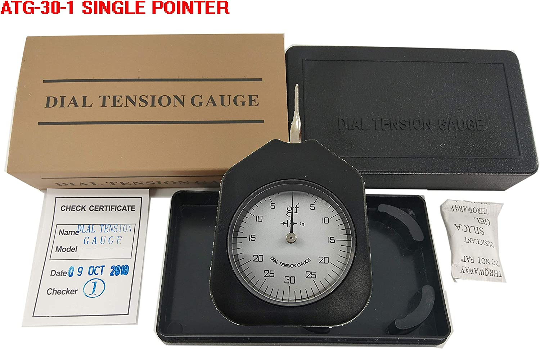 30g Dial Tension Gauge Single Pointer Force Meter Tension Meter ATG-30-1