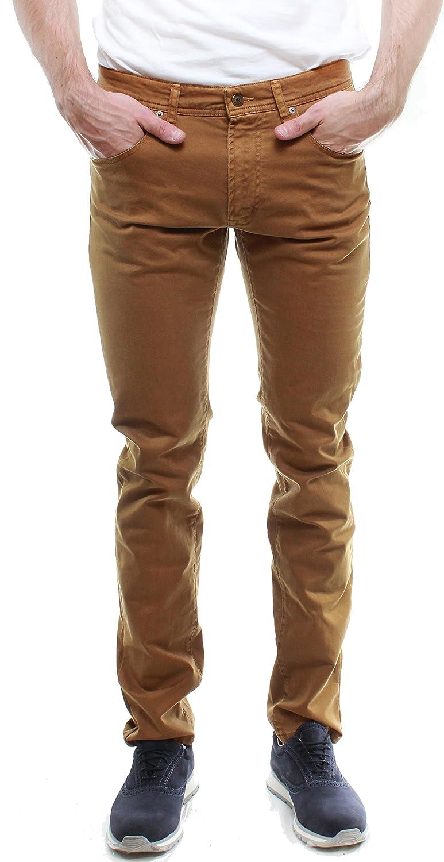 0C342 Pantalon chino en tissu sergé à coupe skinny