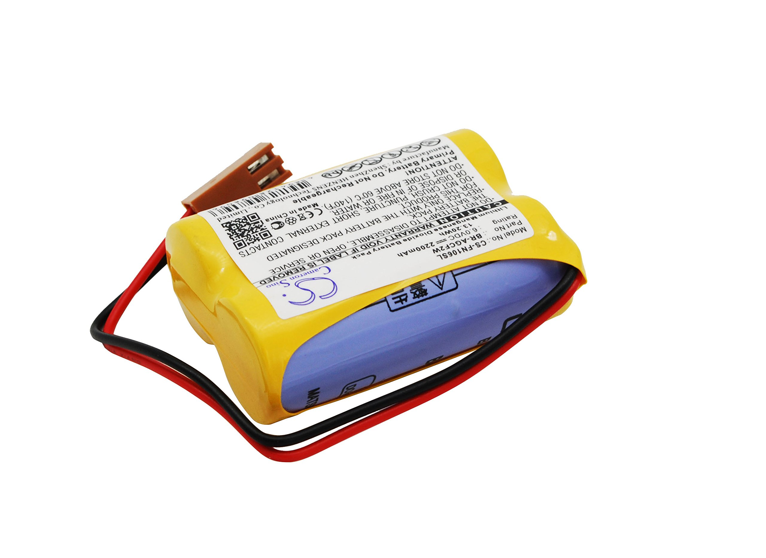 VINTRONS 2200mAh battery for GE Fanuc A06 programmable logic Fanuc A06 industrial computers Beta SVU Amplifier Beta iSV Amplifier