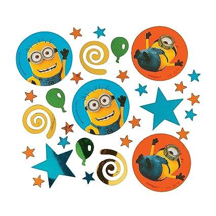 Amazon.com: Fun Express - Confeti de Minions para cumpleaños ...