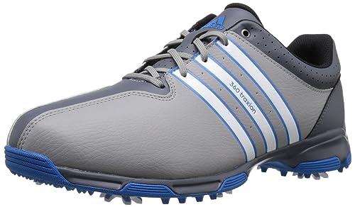 sports shoes 38286 beee5 adidas Hombres de 360 Traxion NWP WD Golf Cleated  Amazon.es  Zapatos y  complementos