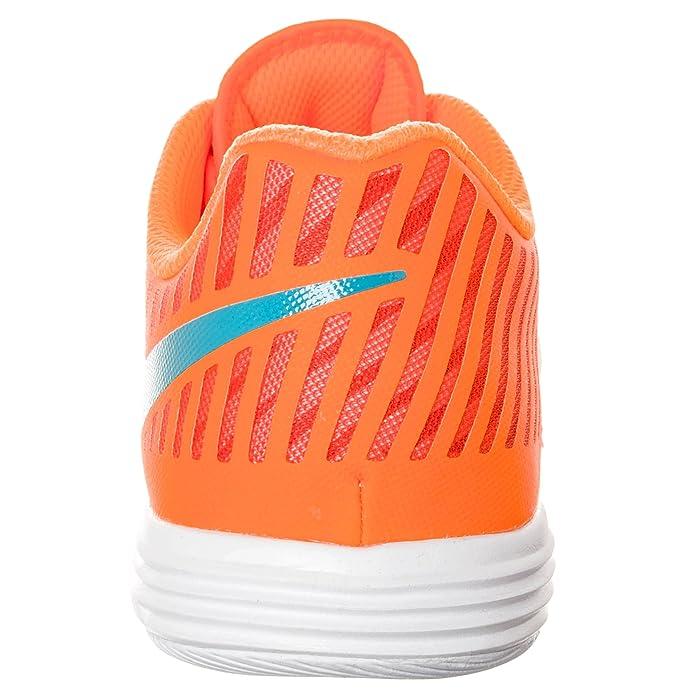 sale retailer e2625 459b4 Nike lunargato II Mens Football Astroturf Shoes Boots 580456 Soccer Cleats  (UK 7 US 8 EU 41, Atomic Orange 848)  Amazon.co.uk  Shoes   Bags