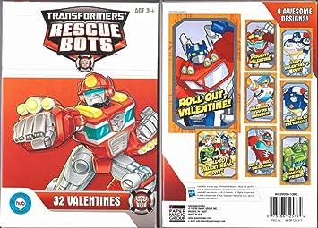 Hasbro Transformers Rescue Bots 32 Valentines