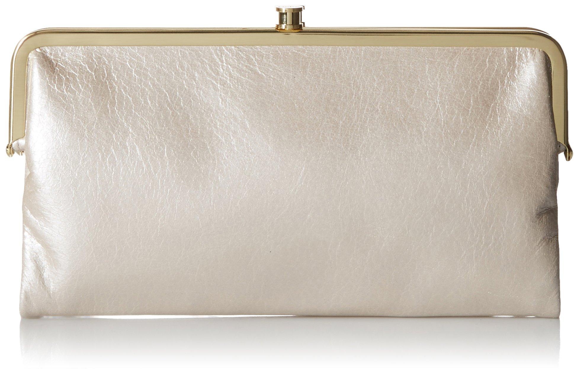 HOBO Vintage Lauren Wallet, Frost, One Size