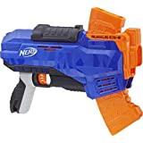 Lança Dardo Elite Rukkus Ics 8, Nerf, Azul/laranja