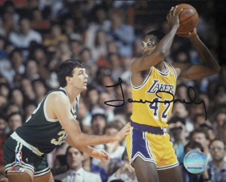 bbfa03e7c41 James Worthy Hand Signed Autographed 8x10 Photo Los Angeles Lakers Kevin  Mchale