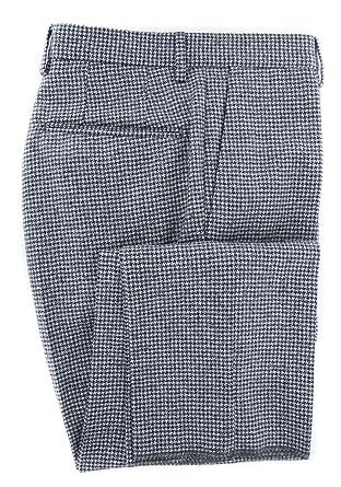 Incotex Gray Micro Houndstooth Pants Slim