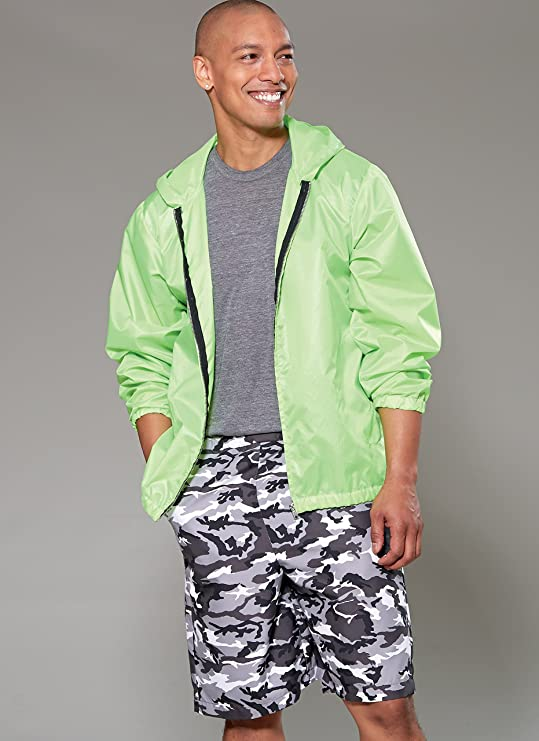 Amazon.com: McCall Patterns M7668XM0 Mens Hooded, Shorts and Leggings Jacket: Arts, Crafts & Sewing