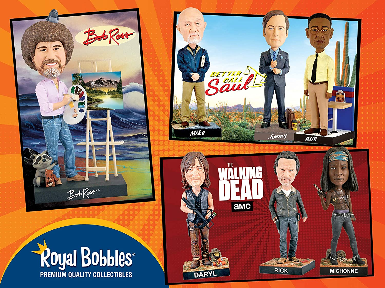 Royal Bobbles Better Call Saul Mike Ehrmantraut Bobblehead 48573