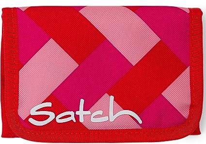 jetzt kaufen komplettes Angebot an Artikeln attraktive Farbe Satch Geldbeutel Chaka Cherry 9D0 rechteck pink rot
