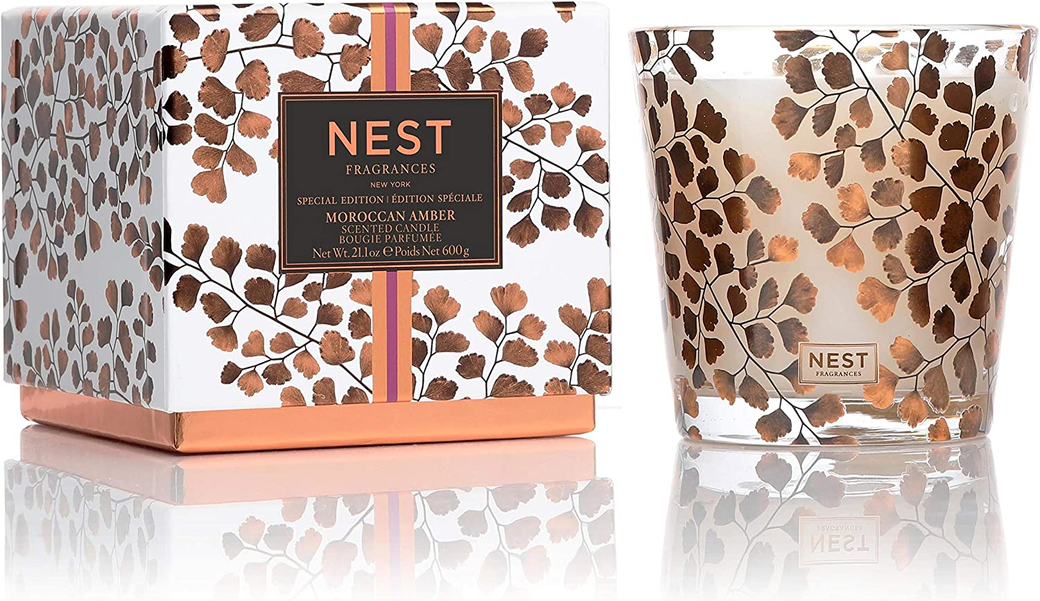 NEST Fragrances Moroccan Amber Special Edition 3-Wick Candle