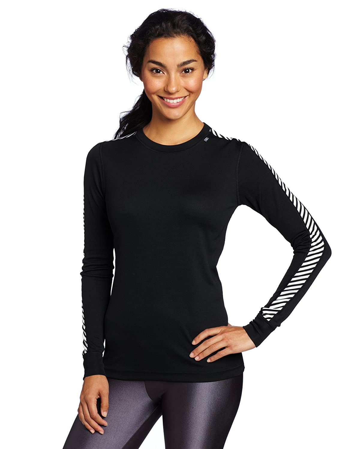Helly Hansen Ladies Dry Original Base Layer L/S Top Black 48218 Sizes- - XLarge