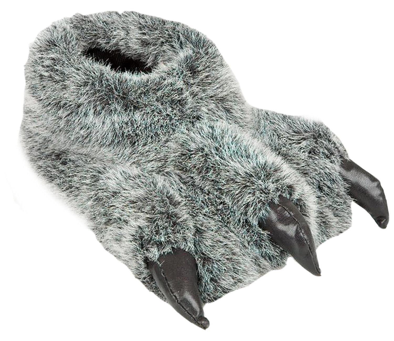 TALLA 41 EU. Zapatillas Divertidas para Hombre con diseño de Oso de Monstruo
