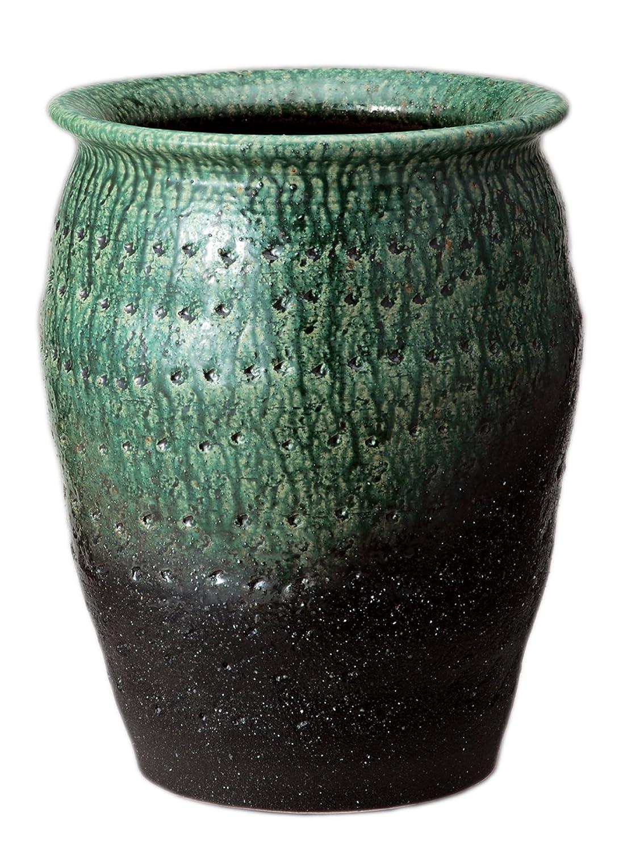 緑彩壷型傘立 535-02 B071Y3QT4P