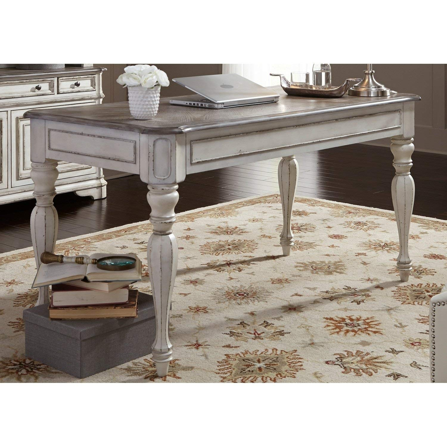 Amazon Com Liberty Furniture Magnolia Manor Writing Desk Office