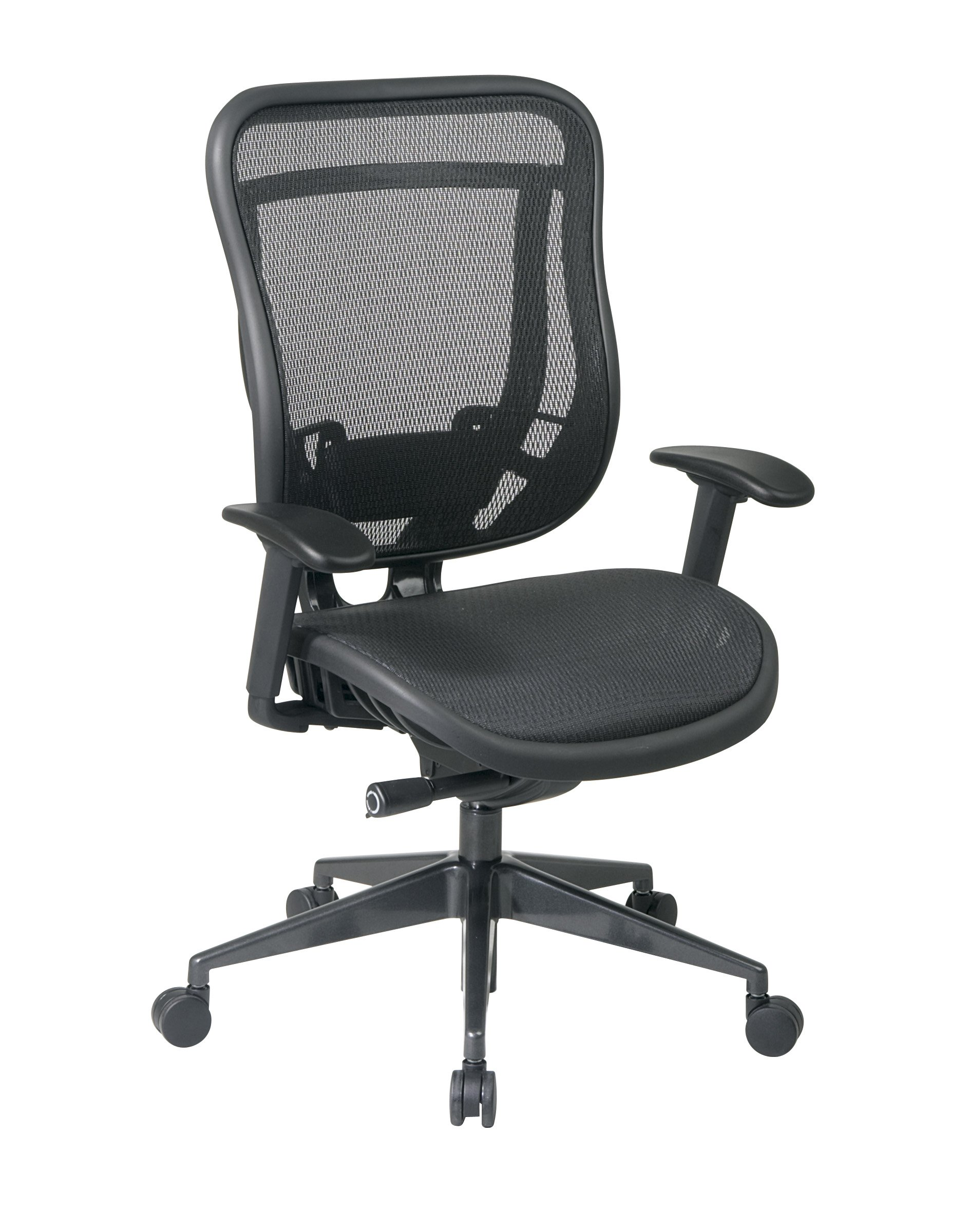 Amazon.com: Office Star SPACE Mesh Headrest in Black (Fits 818 ...