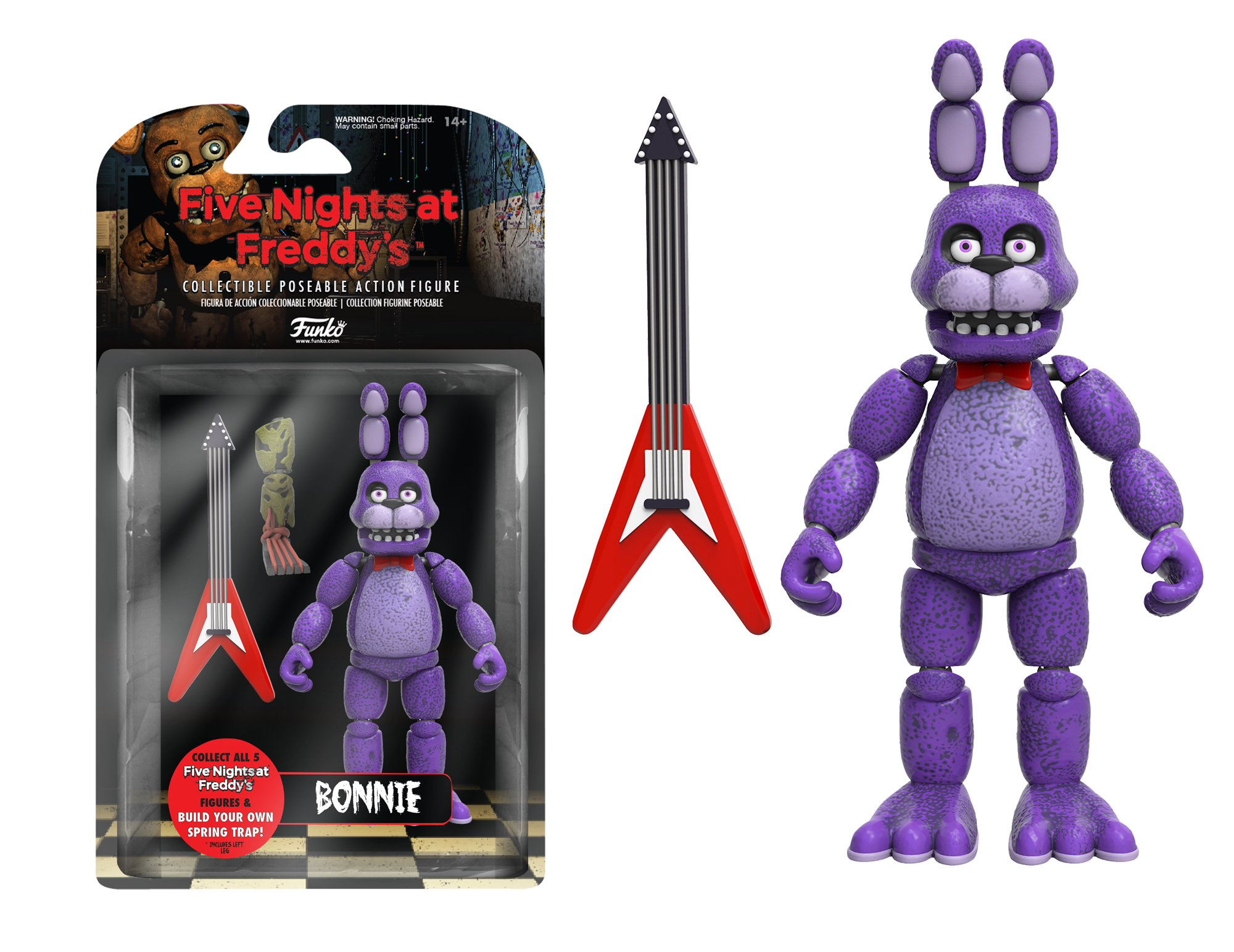 Funko Five Nights at Freddy's Articulated Bonnie Action Figure, 5''