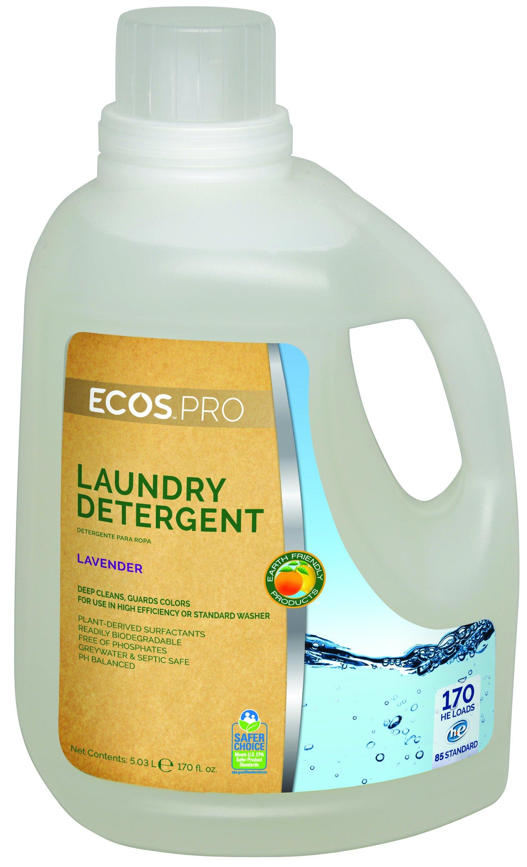 ECOS PRO PL9370/02 ECOS Liquid Laundry Detergent, Lavender (Pack of 2)