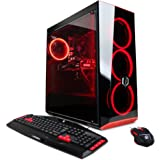 CYBERPOWERPC Gamer Xtreme VR GXiVR8040A4 Desktop Gaming PC (Intel i7-7700 3.6GHz, AMD Radeon RX 580 4GB, 8GB DDR4 RAM, 1TB HDD & Win 10 Home) Black
