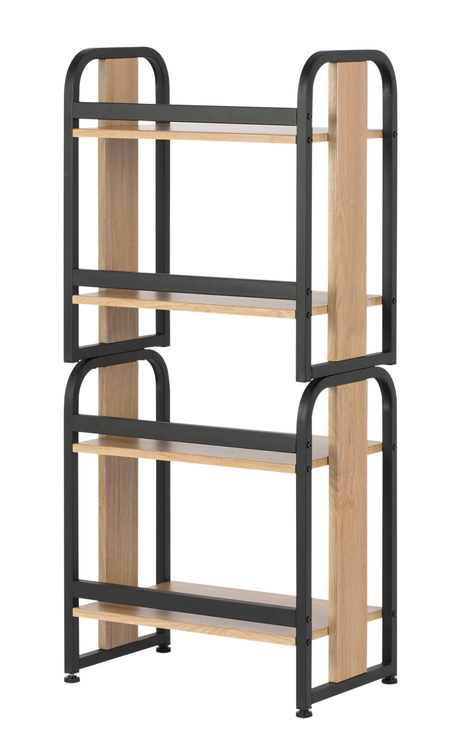 Calico Designs 51249 Modern Ashwood Stackable Bookshelf, Graphite Ashwood by Calico Designs (Image #8)