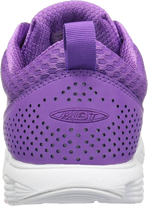 MBT 700898-1007Y Chaussures à Lacets Speed 17 pour Femme Violet