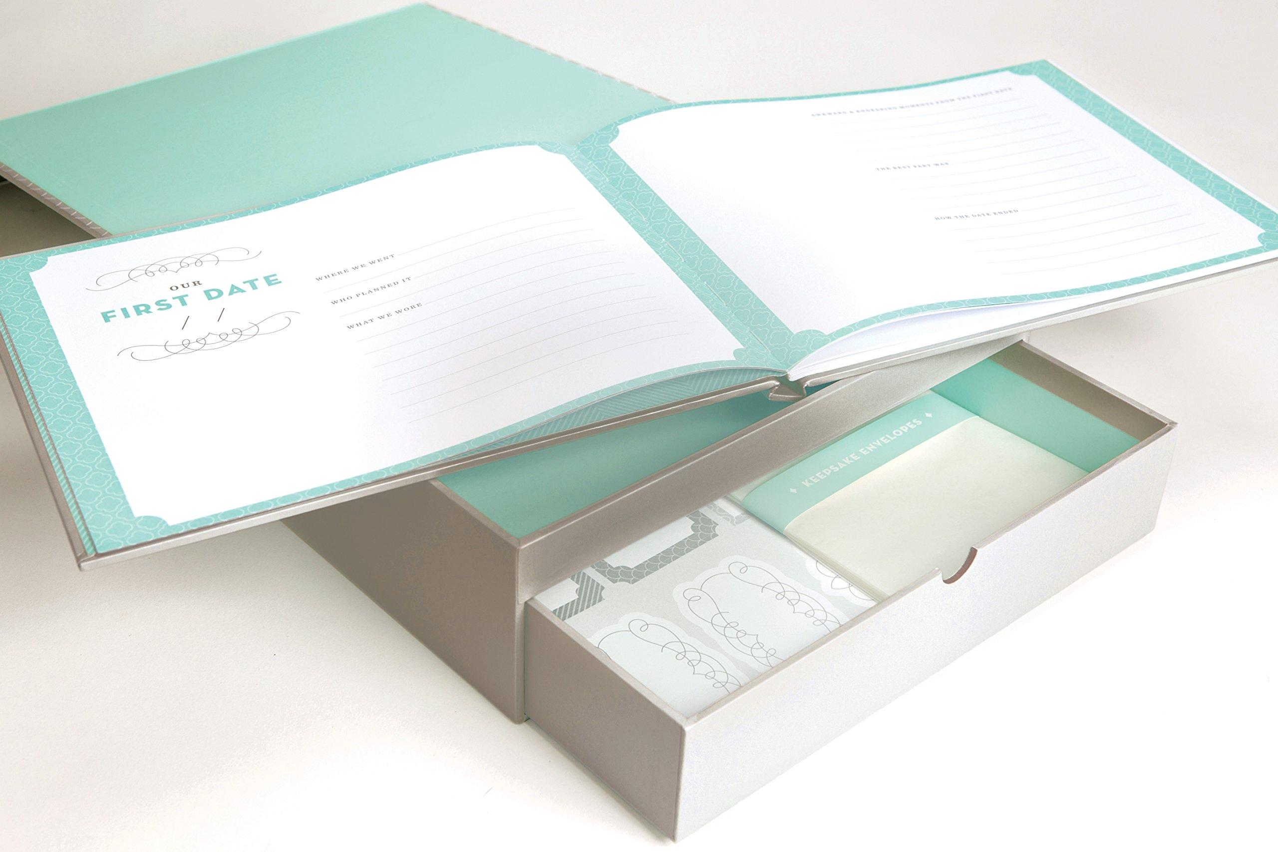 Newlywed Deluxe Keepsake Box /& Memory Book Capture the romance