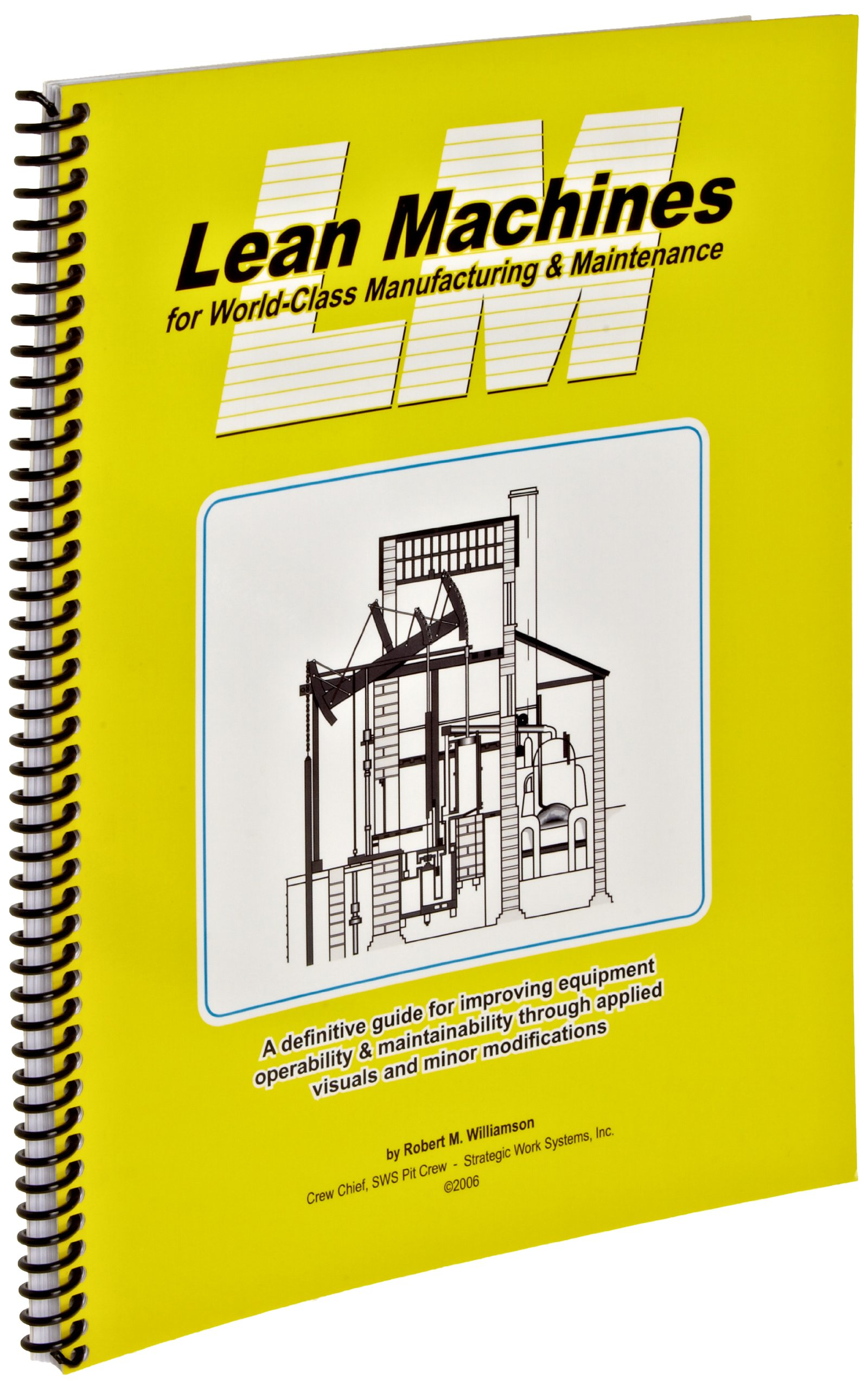 Brady 113242 Lean Machines For World-Class Manufacturing And Maintenance Book