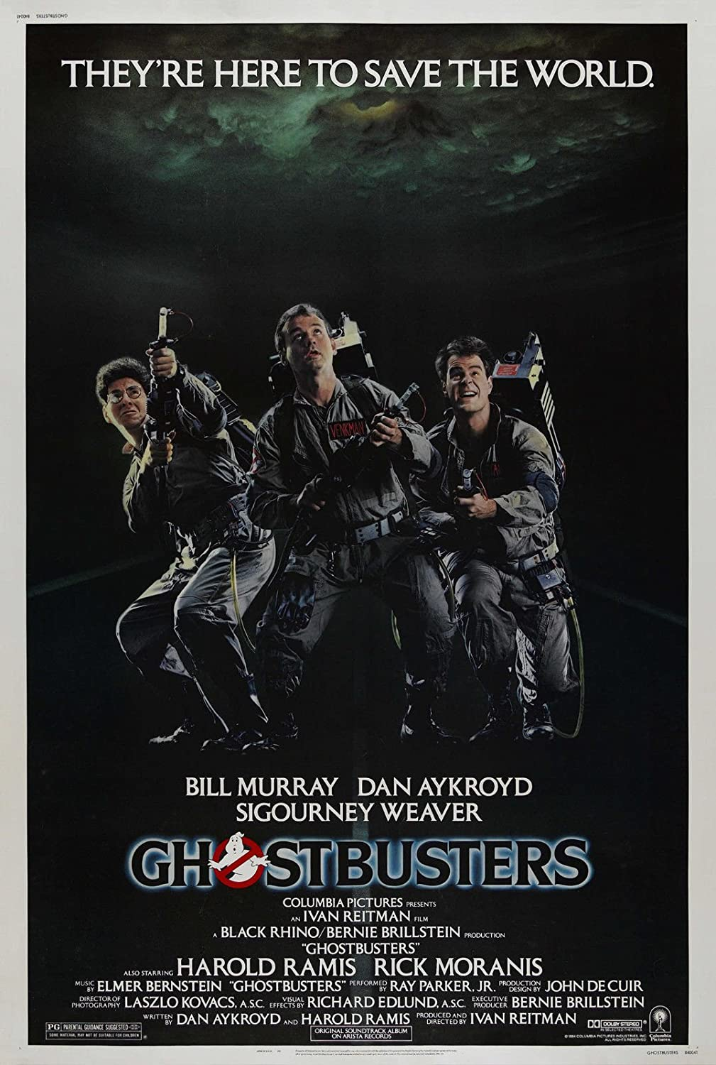 """Ghostbusters (1984) Movie Poster 24""""x36"""""""