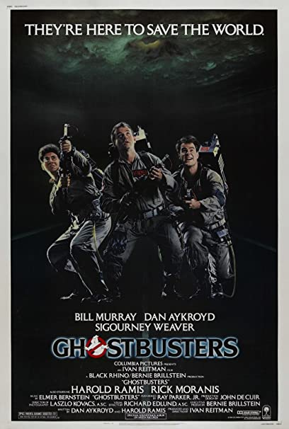 Amazoncom Ghostbusters 1984 Movie Poster 24x36 Posters Prints
