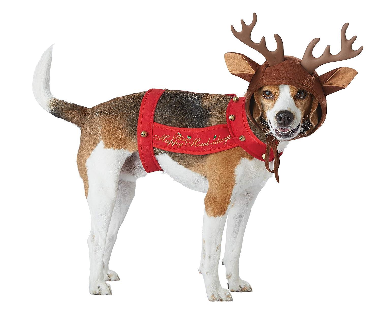 Amazon.com: Disfraz de mascota de reno California Costumes ...