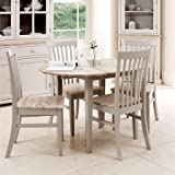 02d7cad511d1 Florence round extending table (92-117cm). Stunning 100% hardwood round  kitchen table in truffle…