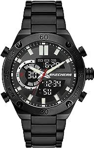 Skechers Reloj digital analógico ligero de cuarzo para hombre