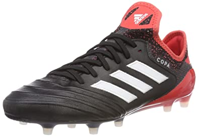 best service bf2bc d727f adidas Copa 18.1 FG Chaussures de Football Homme, Noir (Core BlackFootwear  White