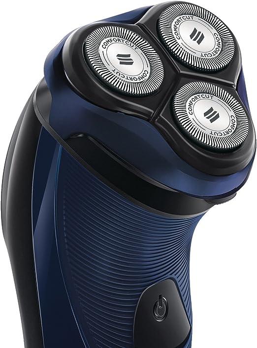 Philips PT717/16 - Afeitadora eléctrica, uso en seco, con cuchillas ConfortCut, con cable, azul: PHILIPS: Amazon.es: Salud y cuidado personal