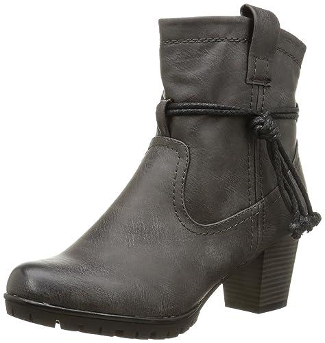 Rieker 98379 Damen Halbschaft Stiefel