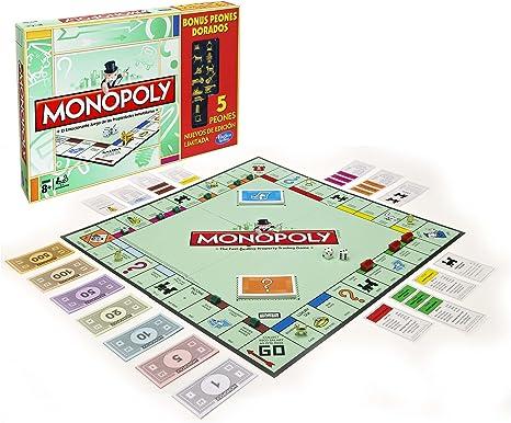 Monopoly - Golden Token, Juego de Estrategia (Hasbro A3856105): Amazon.es: Juguetes y juegos