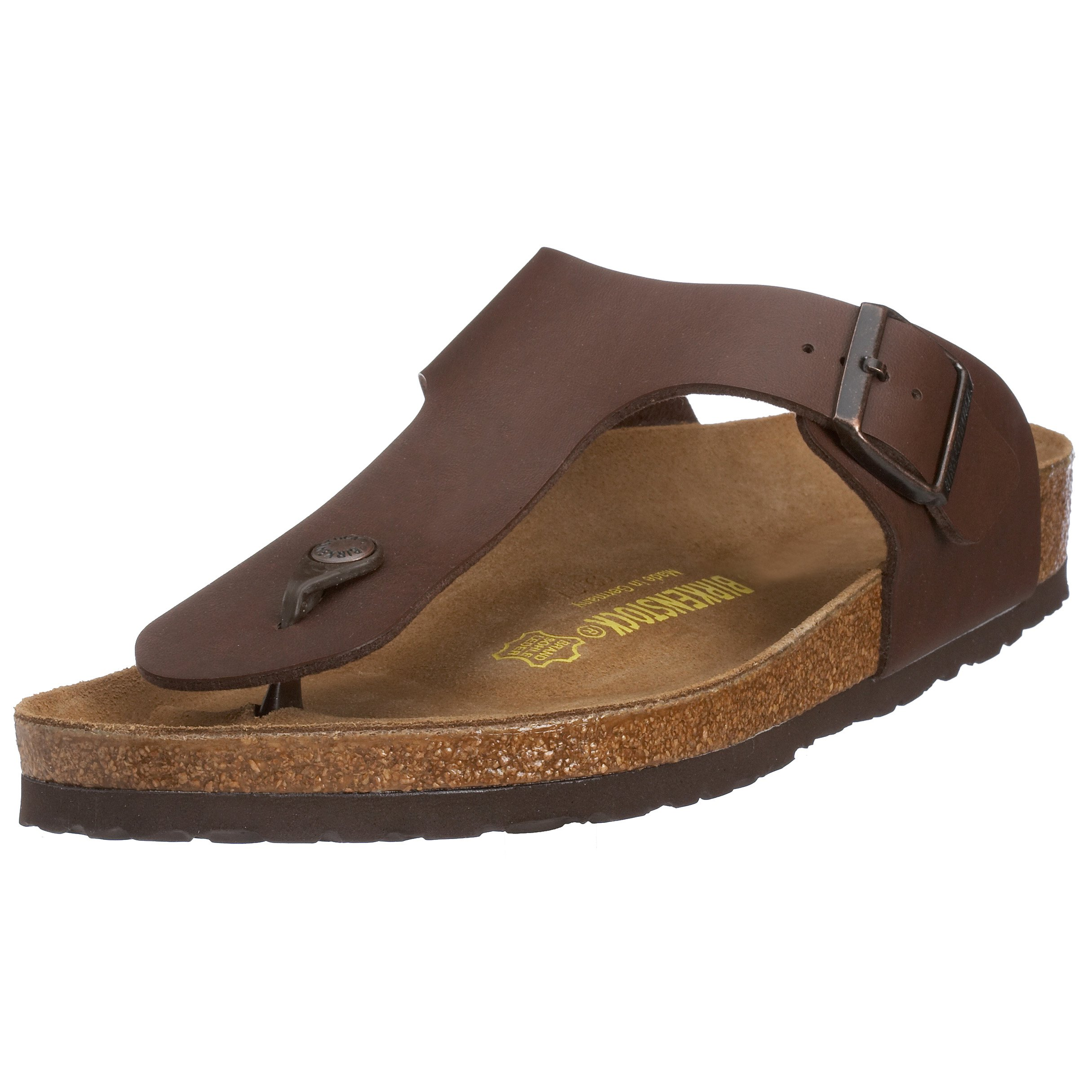 3b16d8583845 Galleon - Birkenstock Women´s Ramses Dark Brown Birko Flor Sandals 35  (normal) R 044701