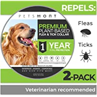 Petsmont Flea Collar for Dogs, Tick Collar for Dogs, Flea and Tick Collar for Dogs, Dog Flea Collar,…
