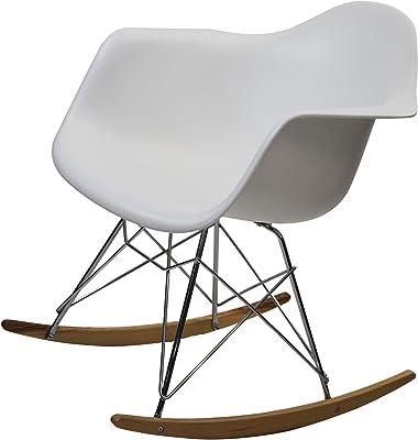 Fine Mod Rocker Arm Chair