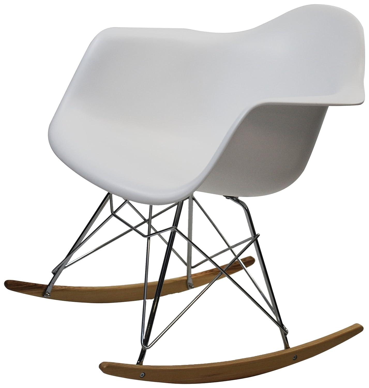 amazoncom fine mod rocker arm chair kitchen  dining -