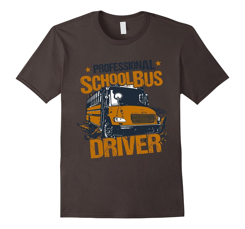 T-Shirt Professional School Bus Driver Wild Vintage Look-PL