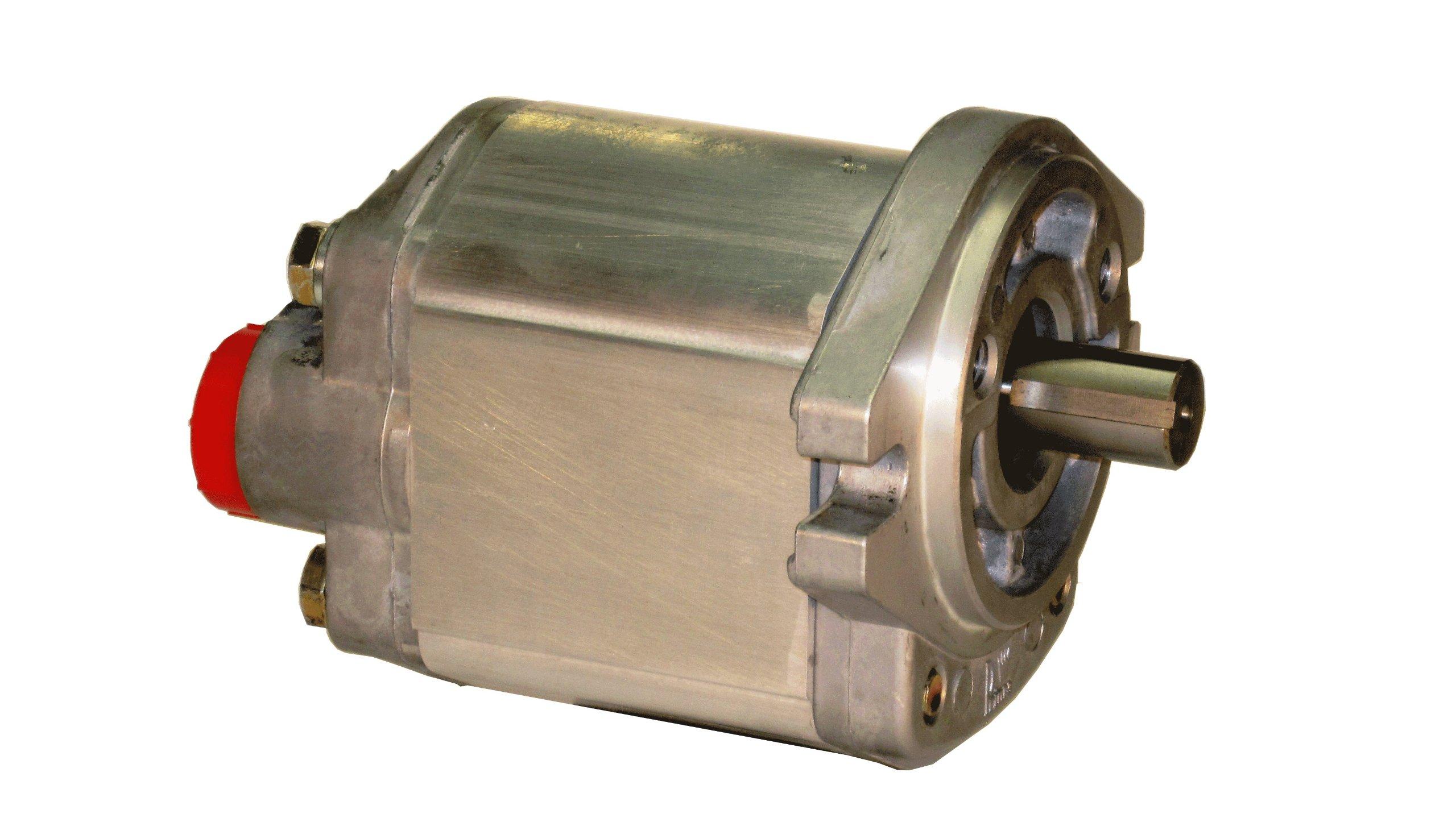 Prince Manufacturing SP20B14D9H4-L Hydraulic Gear Pump, 25.49 HP Motor, 3000 PSI Maximum Pressure, 14.39 GPM Maximum Flow Rate, Counter Clockwise Rotation, Self-Lubricating, SAE A Flange, Aluminum