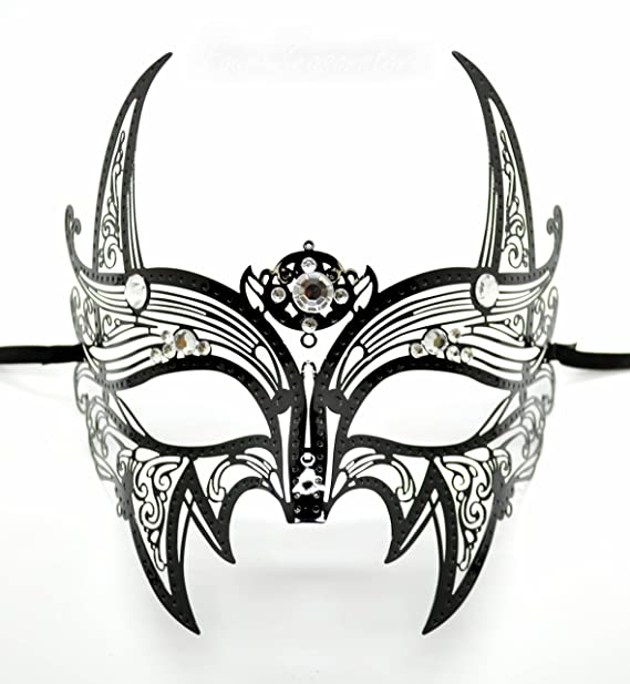 amazon com new wolverine men s mask laser cut venetian halloween