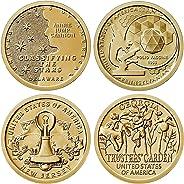 2019 D American Innovation 4 Coin Set 1 Dollar Coins Denver Mint Uncirculated