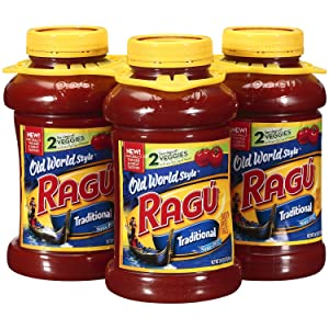 Ragu Old World Style Traditional Pasta Sauce 45 oz. each, 3 pk. A1