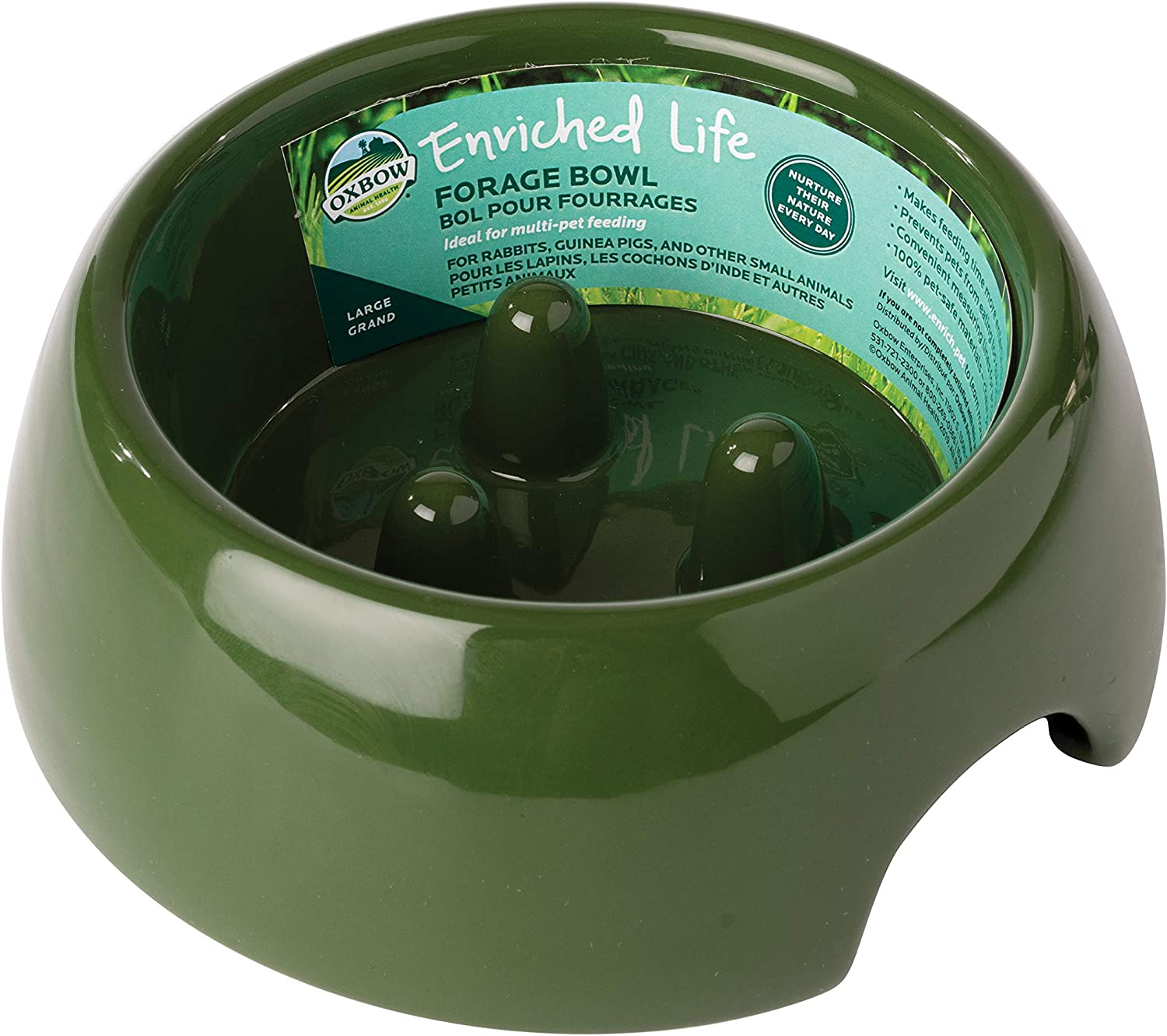 Oxbow Enriched Life Forage Bowl, Large