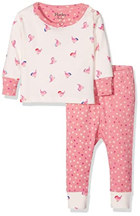 8de74dffb Amazon.com  Hatley Baby Girls Organic Cotton Pajama Sets  Clothing